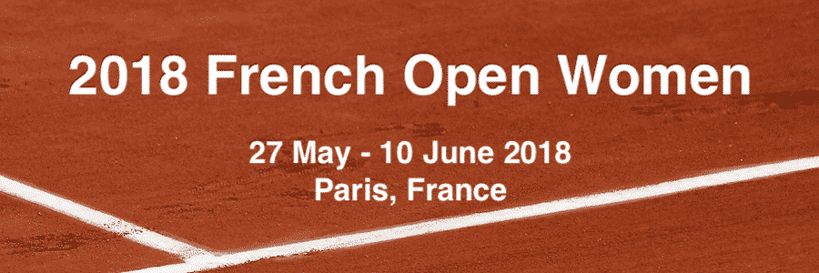 2018 French Open Women