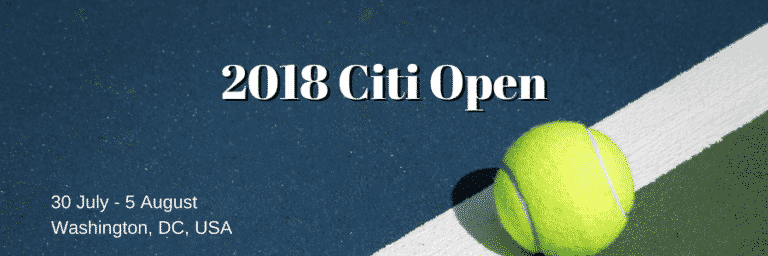2018 Citi Open Betting Preview: Top Seed Zverev Favourite to Defend Title