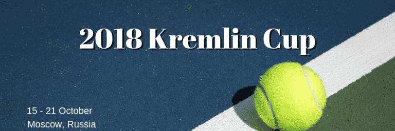 2018 Kremlin Cup Tennis Tournament Preview