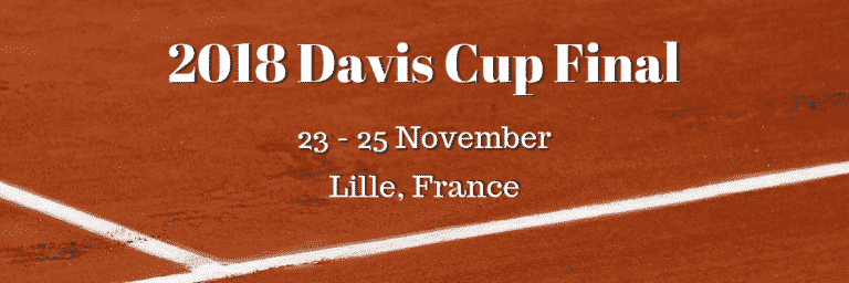 2018 Davis Cup Final: Croatia Betting Favourites to Beat Depleted France