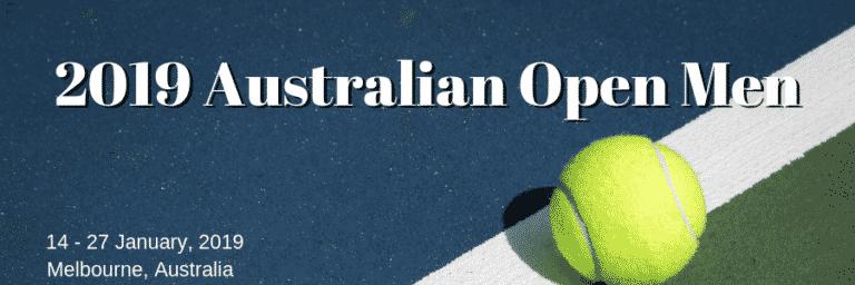 Australian Open Men's Betting Preview: Djokovic and Federer Dominate the Market