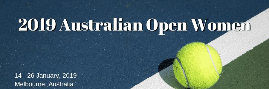 2019 Australian Open Women