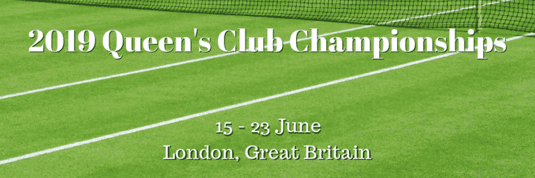 2019 Queen's Club Championships: Del Potro and Cilic in Strong Field