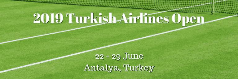 2019 Turkish Airlines Open: Mannarino Favourite in Wimbledon Warm-Up