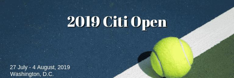 2019 Citi Open Betting Preview: Tsitsipas Favourite to Claim Zverev's Washington Crown