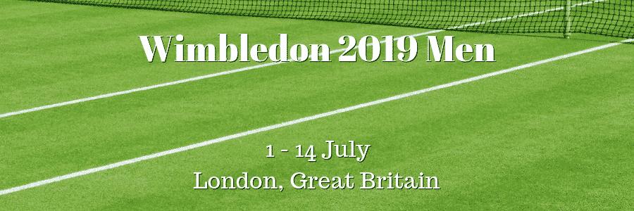 Wimbledon 2019 Men