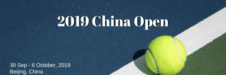 2019 China Open Betting Preview
