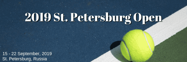 2019 St. Petersburg Open: Medvedev Betting Favourite at Home Event