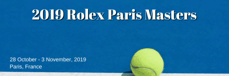 Paris Masters Betting Preview: Djokovic Favourite as Race to London Heats Up