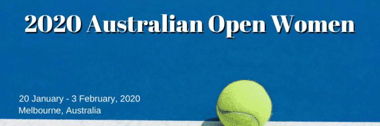 Best Betting Sites and Picks for the 2020 Australian Open Women