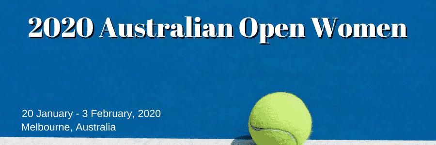 2020 Australian Open Women